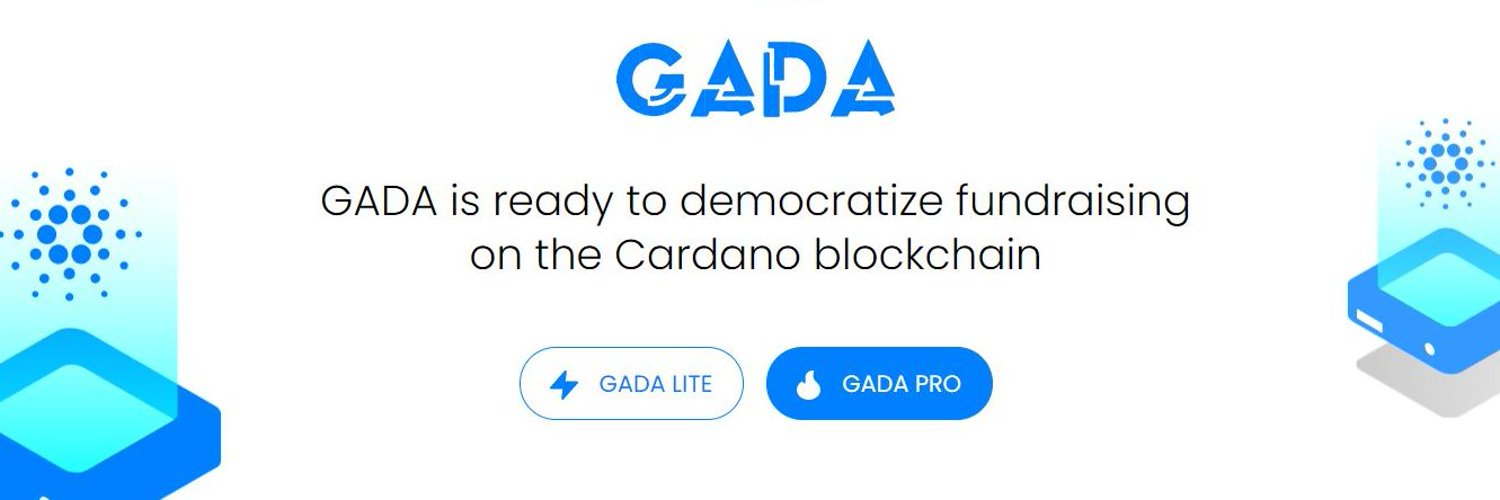 Introducing GADA — A permissionless and community-governed launchpad for Cardano based projects and ideas.